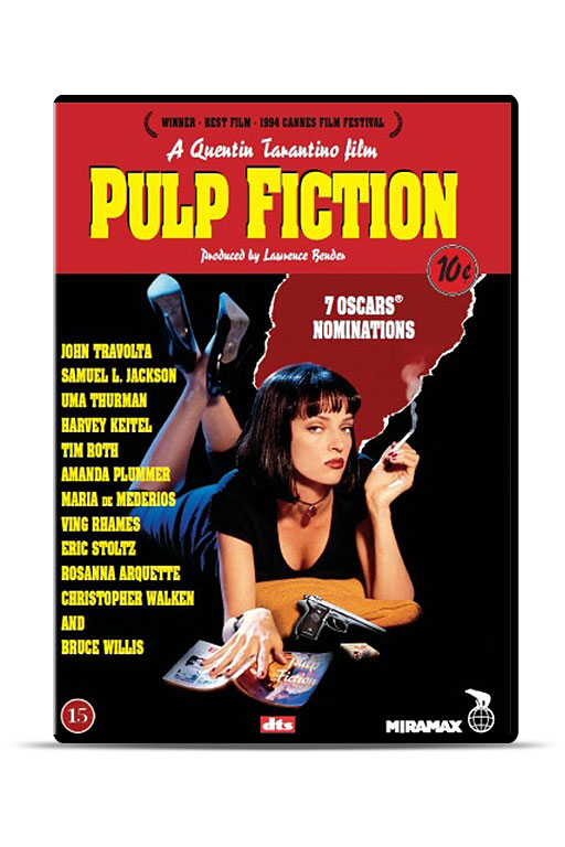 Elokuva: Pulp Fiction (DVD) - 1872