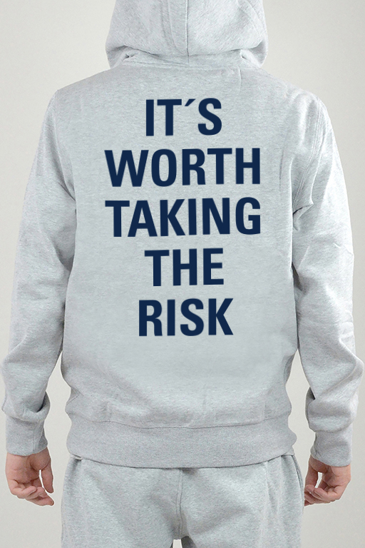 Hoodie Harmaa, It´s Worth - 2404