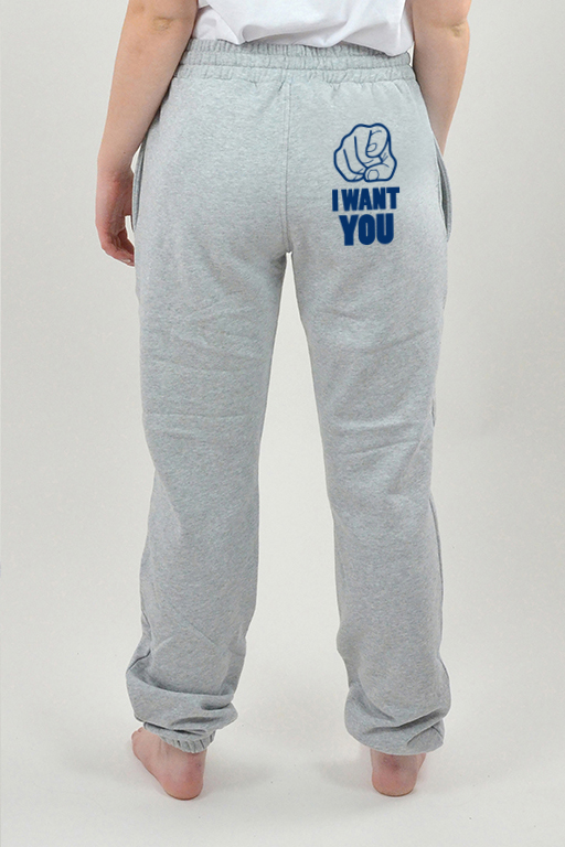 Sweatpants Harmaa, I Want You - 3000