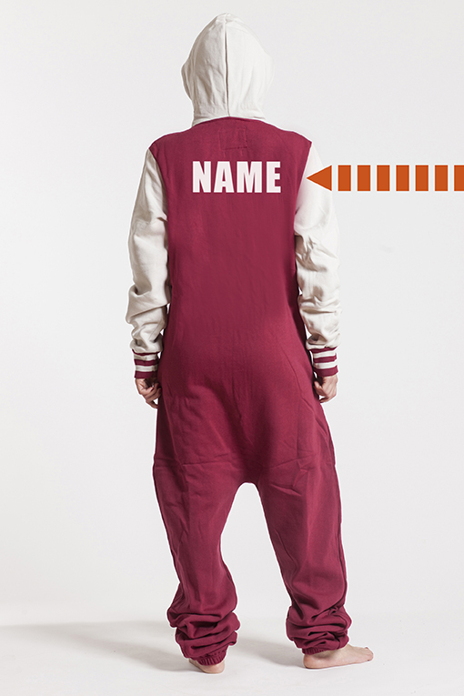 College Red, Back Nameprint - 4437