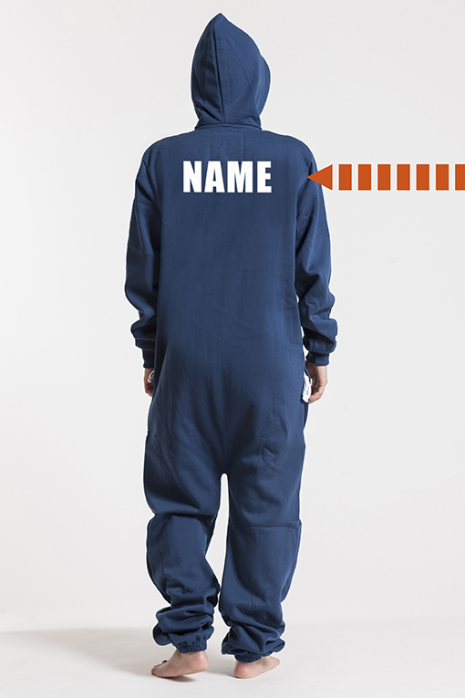 Comfy Navy, Back Nameprint - 4555