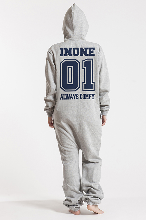 Comfy Grey, College 01 Navy - 4650