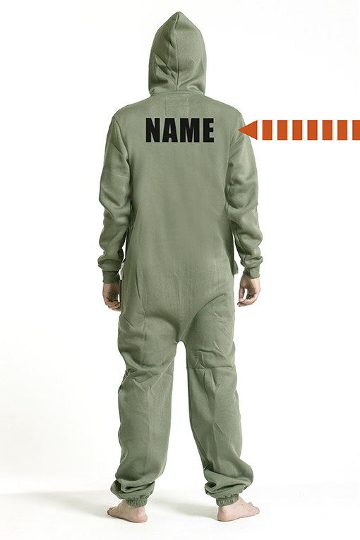 Comfy Armygreen, Back Nameprint - 5247