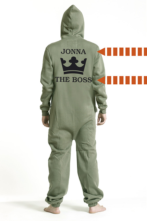 Comfy Armygreen, The Boss, Jumpsuit - 5302