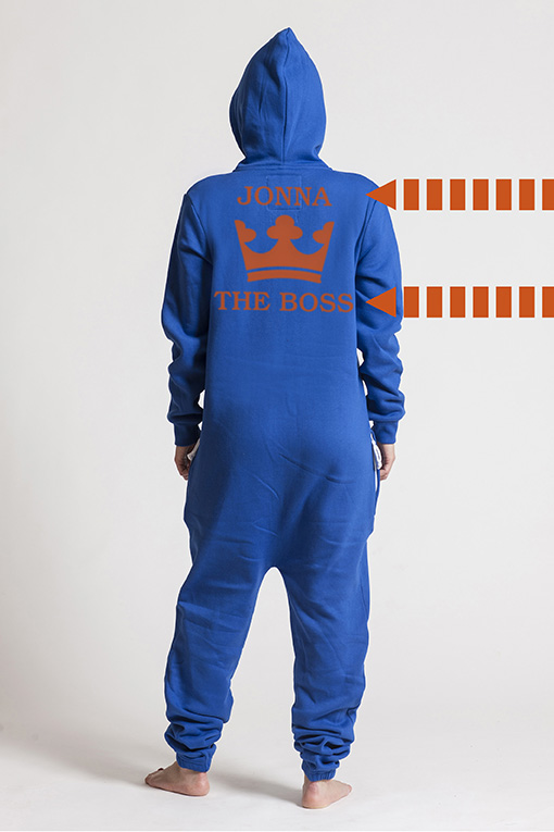 Comfy Blue, The Boss, Jumpsuit - 5631