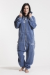 Burned Blue, College 01, Jumpsuit - 4592