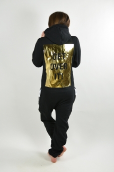 Comfy Black, Get over it -Gold - 1198