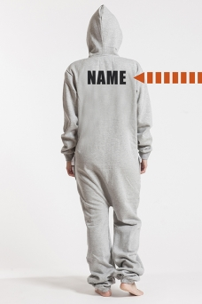 Comfy Grey, Back Nameprint - 4457