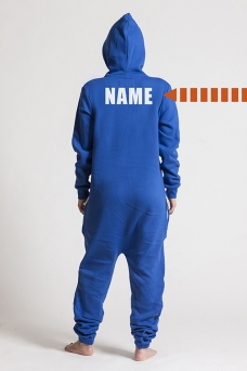 Comfy Blue -Back Nameprint, Onesie - 4529