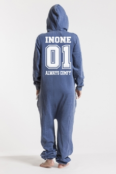 Burned Blue, College 01, Jumpsuit - 4591