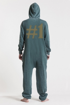 Burned Green, Hashtag #1, Jumpsuit - 5100
