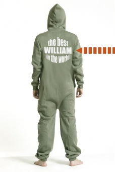 Comfy Armygreen, The Best, Onesie - 5293