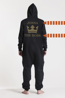 Comfy Black, The Boss, Jumpsuit - 5616